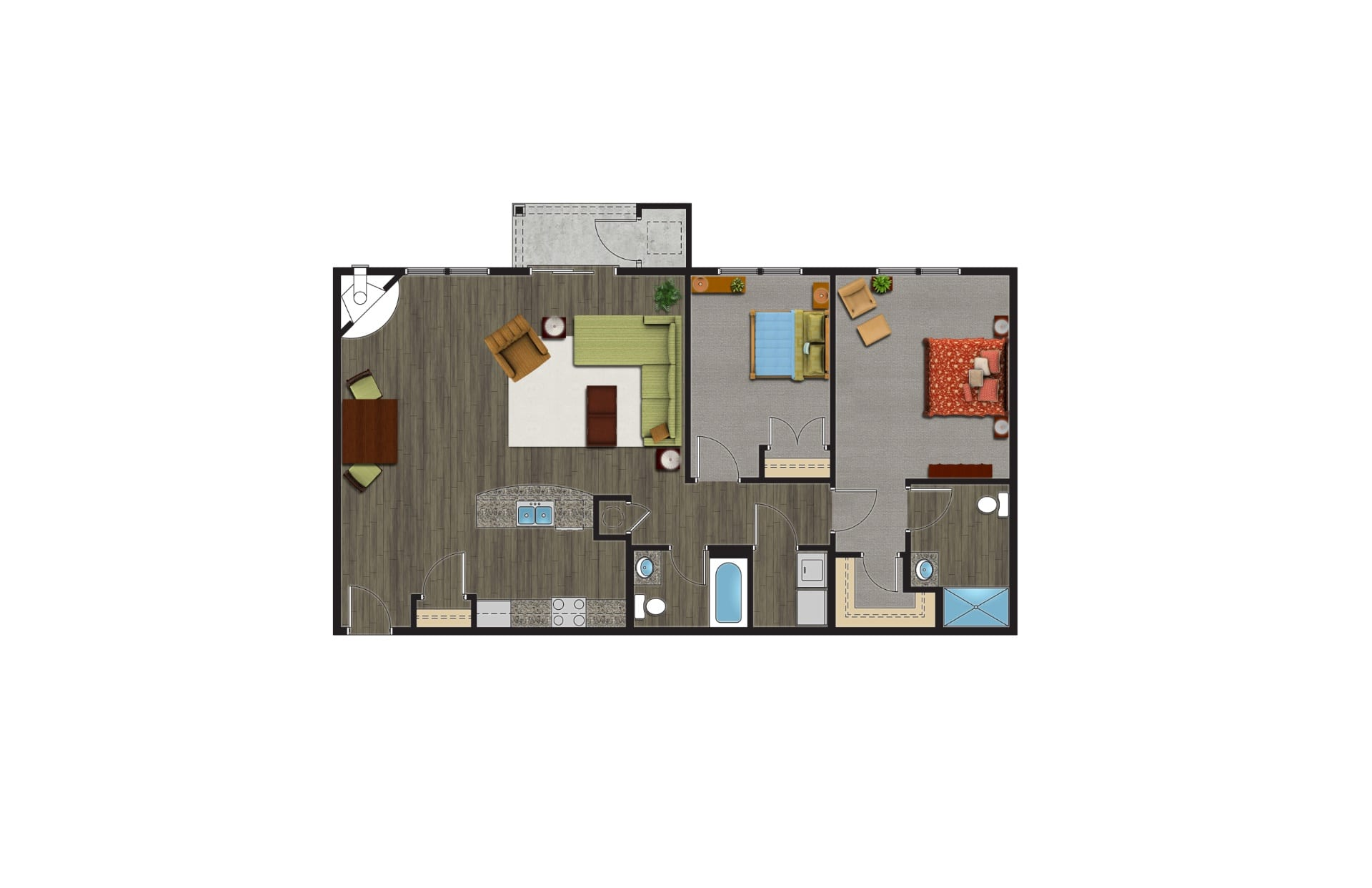 The Adirondack Floor Plan, Luxury Apartments with Garages for rent. A 2 Bedroom Apartment in Orchard Park NY are pet friendly apartments.